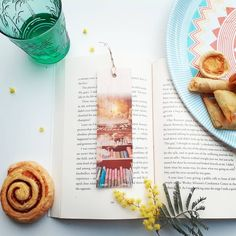 Keep track of your place in a favourite book, journal or magazine with this unique handmade wood bookmark. You will no longer need to reach for an old receipt or scrap of paper to mark your place…and no more folding the corners of pages! Each bookmark is handmade in Australia using lightweight, flexible wood, gorgeous photo image transfer and finished with coloured ribbon. #stitchandwood #bookmark #giftidea Flexible Wood, Library Bookshelves, Wood Transfer, Ribbon Colors, Book Journal, Book Lovers, Are You The One, Bookmarks, Mall