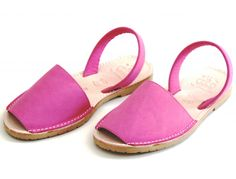 FUCSIA ABARCAS MENORQUINAS « Verano Shoes - Sandals