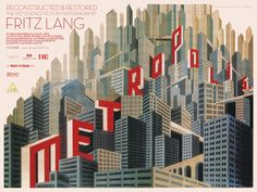 Metropolis poster from The official Eureka/Masters of Cinema (UK) site for the complete restoration.