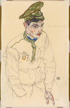 Egon Schiele Austrian, 1890-1918, Russian War Prisoner