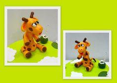 bolos girafa e elefante doces momentos3