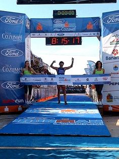 Ivan Raña ganador - Ironman Cozumel 2012 by RunMX.com, via Flickr