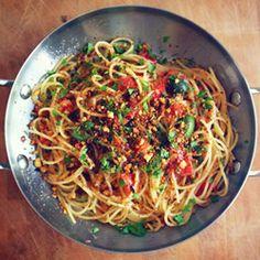 A family throwback, Summer Tomato Pasta