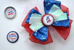 Independance Day  July 4th Hair Bow /17 photo by SpearCraft, $7.00