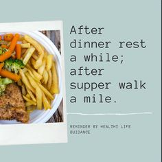 After dinner rest a while, after supper walk a mile. Health Benefits Of Walking, Positive Mental Health, Walk A Mile, Health Questions, Walking Exercise, Vitamin D, Tone It Up, Stress And Anxiety, Get In Shape