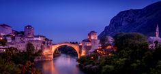 Photo Mostar * panorama by Emir Terovic  on 500px