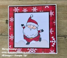 Christmas Hanukkah, Christmas Cards, Jumping For Joy, Fun Fold Cards, Get Well Cards, Stamping Up, Stampin Up Cards, I Card, Cardmaking