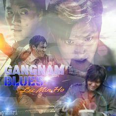 Gangnam Blues fan art, cr. Yunari.