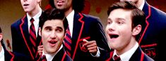 If you want me to believe that you're not totally in love, Blaine, then maybe stop looking at him every 5 seconds.