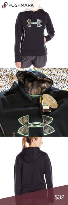 NWT Under Armour Hoodie medium and large NWT Under Armour Hoodie womens medium and large.  Brand new for a great price! Under Armour Tops Sweatshirts & Hoodies
