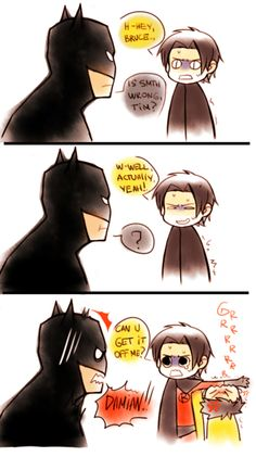 Tim Drake and Damian Wayne's relationship in a picture