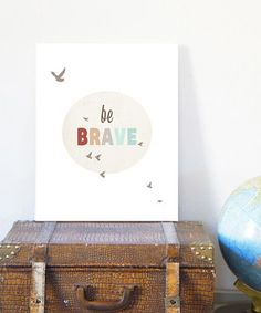 Simply sweet and sophisticated, this fresh and positive print is a lovely addition to any room in need of a lively lift. This stylish piece is even printed with eco-friendly inks on beautiful recycled cardstock paper.