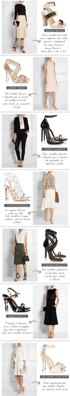 Estilo Meu - Consultoria de Imagem / net-a-porter / shoes / sandals / wishlist / giuseppe zanotti / emilio pucci / ramara mellon / sergio rossi / jimmy choo / saint laurent / powerful sandals / classics / sandálias / desejo / itens desejo / lista de compras / moda / peças ícones / blog / blogger / post  /fashion post design / fashion post layout / classic shoes / personal shopper tips / personal stylist choices / tips / fashion tips /