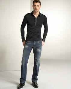 dark wash jeans mens - Google Search