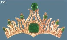 : Iranian Royal Jewels, The Flame Tiara