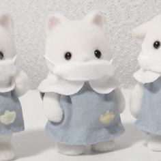 Aesthetic Colors, White Aesthetic, Aesthetic Pictures, Calico Critters Families, Critters 3, Cute Images, Cute Pictures, Cute Gifs, Overlays