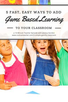 """You can gamify your classroom. It isn't hard. Sixth-grade teacher Jessica Gordon@1337teachgives us tips, ideas, and links for how to gamify our classrooms now. Game based learning can be simple and free. Listen now Listen on iTunes Stream by clicking here. Download this episode as an MP3 by right-clicking here and choosing """"Save As."""" Jessica […]"""