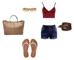 """""""my fashion 17"""" by annie-zz on Polyvore featuring Lipsy, Aéropostale, Longchamp, Hoorsenbuhs and Ray-Ban"""