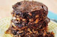 Caramel Chocolate Brownies Recipes
