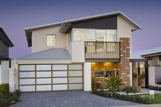 The Monterey double storey display home by #V2storeyhomes (#VenturaHomes) #elevation #facade #House