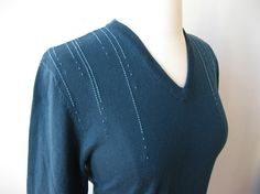 Update A Sweater With HandStitching - Luxe DIY - How Did You Make This?