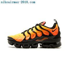 7d3745b2f7ecc 2018 Nike Air Vapormax Plus Mens Sneakers Total Orange Nike Air Max Tn
