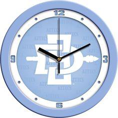 Mens San Diego State Aztecs - Baby Blue Wall Clock