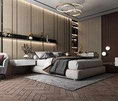 Luxury Bedroom Design, Master Bedroom Interior, Bedroom Furniture Design, Master Bedroom Design, Bedroom Sets, Luxury Interior, Bedroom Decor, Kids Bedroom Designs, Living Room Designs