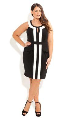 Plus Size City Sass Dress - City Chic - City Chic