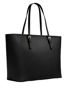 Jet Set Leather Travel Tote   Lord and Taylor