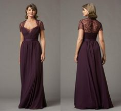 Wholesale Plus Size Mother Dresses - Buy Elegant Mother Of The Bride Dresses With Illusion Cap Sleeve Vintage Lace Sheath Long Formal Dresses Evening Dresses Gowns Custom Made, $118.81 | DHgate
