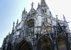 """Church of Saint-Maclou, Rouen France ... remembering """"Pillars of the Earth"""" and the labor and engineering skill that constructed these amazing cathedrals... beautiful beyond words"""
