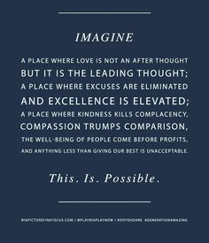 This. Is. Possible. #liveoutloudeveryday #designthinking #lifestyle