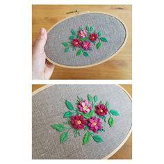 """좋아요 31개, 댓글 1개 - Instagram의 @della_embroidery님: """"#프랑스자수#입체자수 #stumpwork #송파잠실프랑스자수 #needlework"""""""