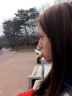 Krystal Pringles Duck Bill