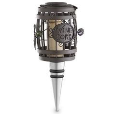 Wine Stoppers - Epic Products Cork Cage Wine Barrel Bottle Stopper 5Inch -- To view further for this item, visit the image link.