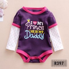 I love my prince, he is my daddy  Pakaian bayi Baby clothes Jumper bayi Romper bayi Baby jumper Baju bayi Baby romper Baju anak Jumper Indonesia --------------------------------------- For more information: www.xsito-store.com --- Line : @rcb0969g --- BBM : 5B03BB9D --- Email : xsitostore@gmail.com --- Fb : xsito store
