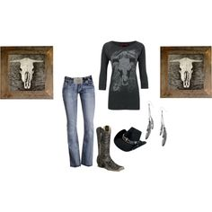 """""""cowgirl"""" by amber-carroll88 on Polyvore"""