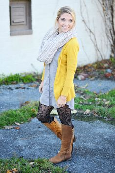 Fall and Winter cozy outfit for a casual day of errands or shopping