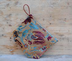 Borsa pochette in tessuto vintage  borsa sera di MonicaAntique