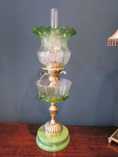 Vintage Kerosene/Oil Lamp