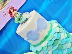 Disney Princess Ariel Ocean Under the Sea Girl Party Planning Ideas. The cake
