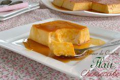 Flan cheesecake Bonjour tout le monde, Je suis sure que déjà la nom de la recette vous fait le clin d'oeil? Un flan cheesecake??? Personnellement dés que j'ai vu la recette a la télé, je ne voulais que l'essayer, je voulais savoir le gout de ce flan cheesecake et sa texture. C'est pour ça, ...