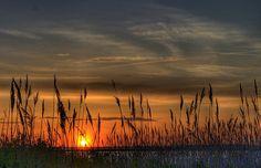 Jones Beach, NY sunset
