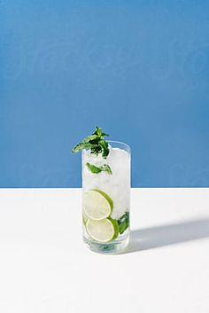 Cocktail Stock Photos by CAMERON WHITMAN [Royalty-Free Stock Photos] Bramble Cocktail, Mojito Cocktail, Fresh Mint, Simple Syrup, Gin, Glass Vase, Royalty Free Stock Photos, Cocktails, Photograph