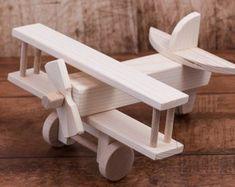 Wooden Airplane toy wooden toy Kids toys wooden toy airplane toy Children Boys Airplane with weels Decorative toy Birthday present