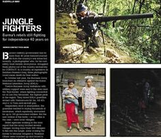 A personal encounter with Burma's rebels. From CONTACT issue 1, March 2004