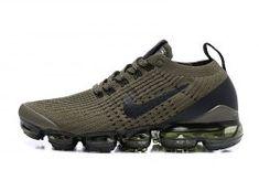 huge selection of e7d41 5ddbe Nike Air VaporMax Flyknit 2019 CArmy Green Men s Women s Running Shoes