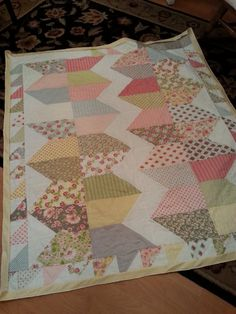 Baby Quilt by lizziDroege on Etsy