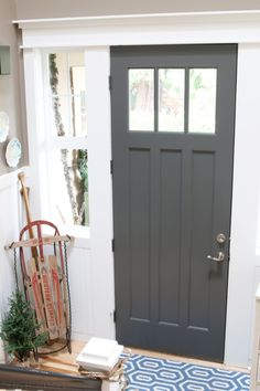 More Painted Interior Doors | Before and After - Decorchick! Looove ...